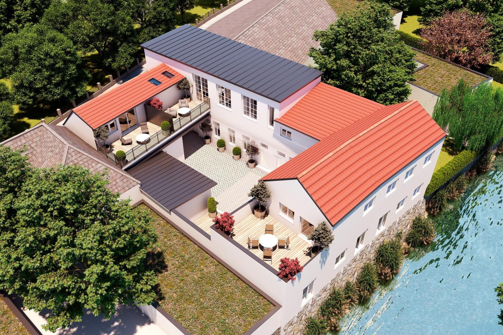 Wohnbauprojekt Baden Topview