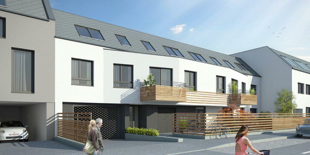 Wohnbauprojekt Donaustadt Außenansicht