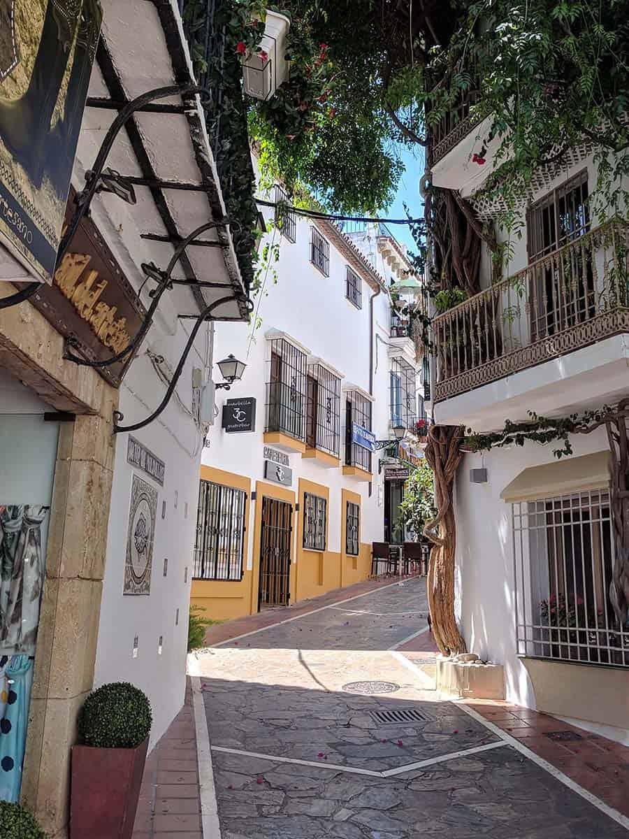 Die Altstadt in Marbella
