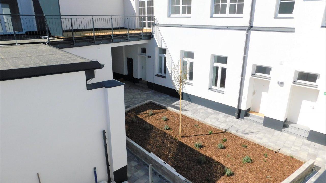 Wohnbauprojekt Baden Innenhof